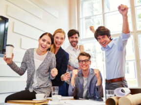 HR marketing square